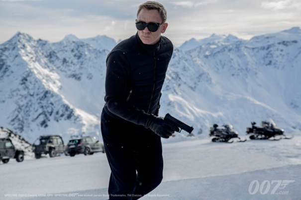 Spectre still - James Bond - copyright Twentieth Century Fox