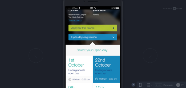 LJMU course mobile design