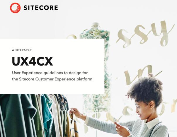 Sitecore UX4CX Whitepaper